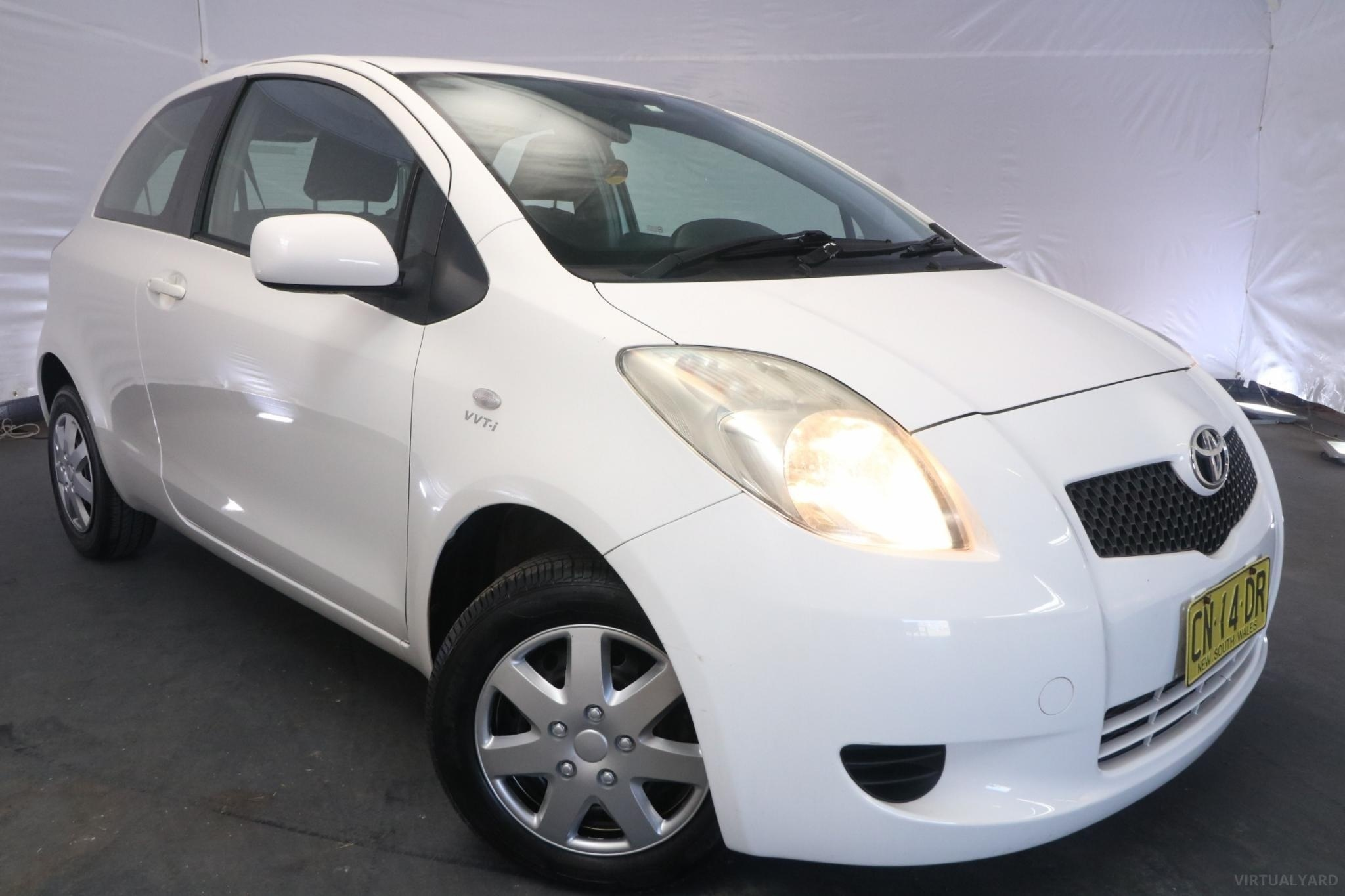 2008 Toyota Yaris YR NCP90R / 5 Speed Manual / Hatchback / 1.3L / 4 Cylinder / Petrol / 4x2 / 3 door / November release F6D08A