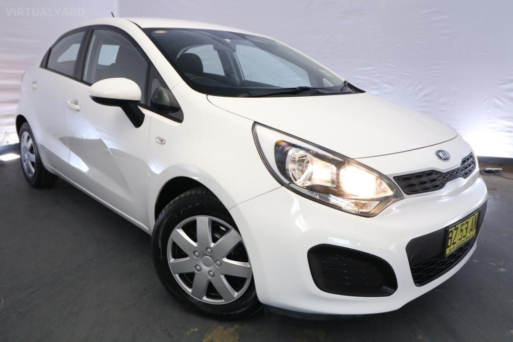 2014 Kia Rio S UB MY14 / 4 Speed Automatic / Hatchback / 1.4L / 4 Cylinder / Petrol / 4x2 / 5 door / Model Year '14 July release PLR14A