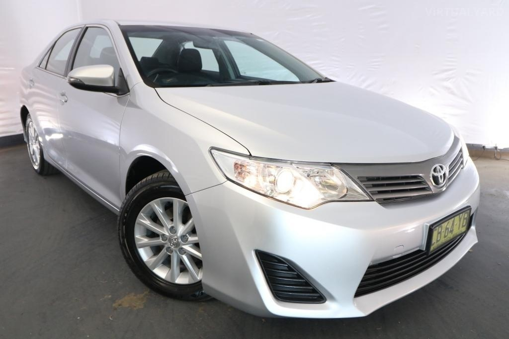 2015 Toyota Camry ALTISE ASV50R / 6 Speed Automatic / Sedan / 2.5L / 4 Cylinder / Petrol / 4x2 / 4 door / December release N8715A