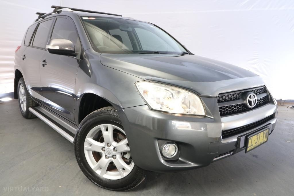 2011 Toyota RAV4 CV ACA38R / 5 Speed Manual / Wagon / 2.4L / 4 Cylinder / Petrol / 4x2 / 4 door / April release KJA11A