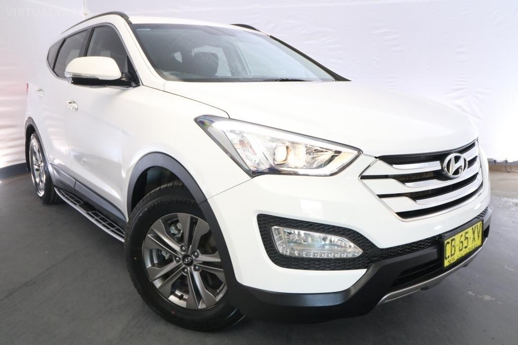 2015 Hyundai Santa Fe ACTIVE CRDi DM MY15 / 6 Speed Automatic / Wagon / 2.2L / 4 Cylinder TURBO / Diesel / 4x4 / 4 door / Model Year '15 September release RLJ15A