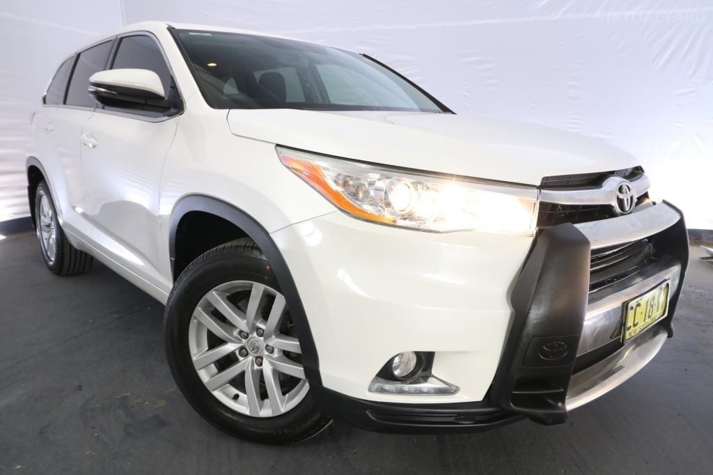 2015 Toyota Kluger GX GSU55R / 6 Speed Automatic / Wagon / 3.5L / 6 Cylinder / Petrol / 4x4 / 4 door / March release QWY15A