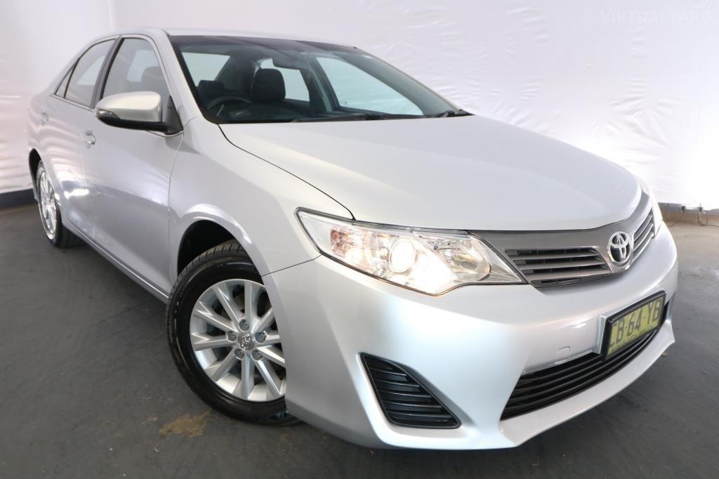 2015 Toyota Camry ALTISE ASV50R / 6 Speed Automatic / Sedan / 2.5L / 4 Cylinder / Petrol / 4x2 / 4 door / December release N8715A