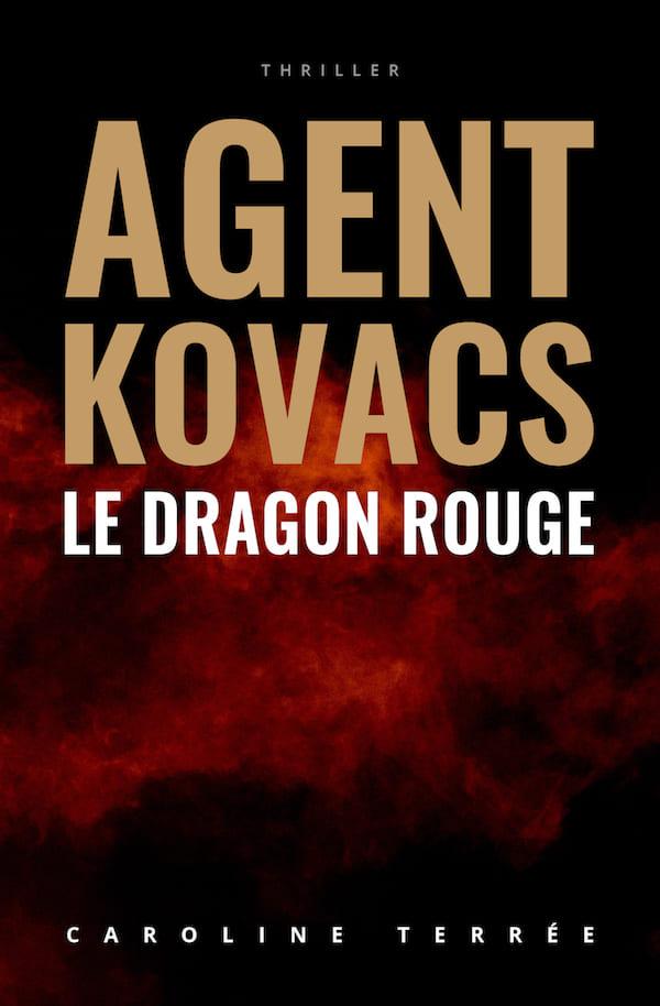 Le Dragon rouge, Caroline Terrée – Couverture (tome 3)