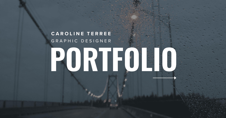 Caroline Terrée, Graphic Designer – Portfolio