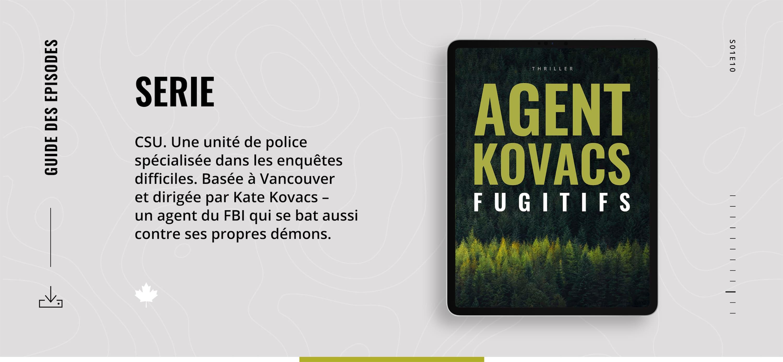 Fugitifs, Caroline Terrée – ebook (tome 10)