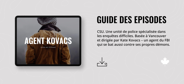 Série CSU / Agent Kovacs – Guide des Épisodes (Saison 1, Tomes 1-12)