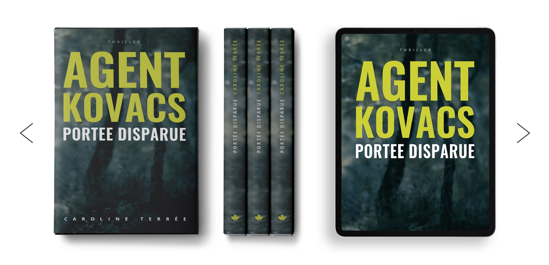 Agent Kovacs – Série CSU, Tome 1 (roman policier)