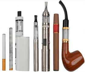 Tipos de cigarro eletrônico.