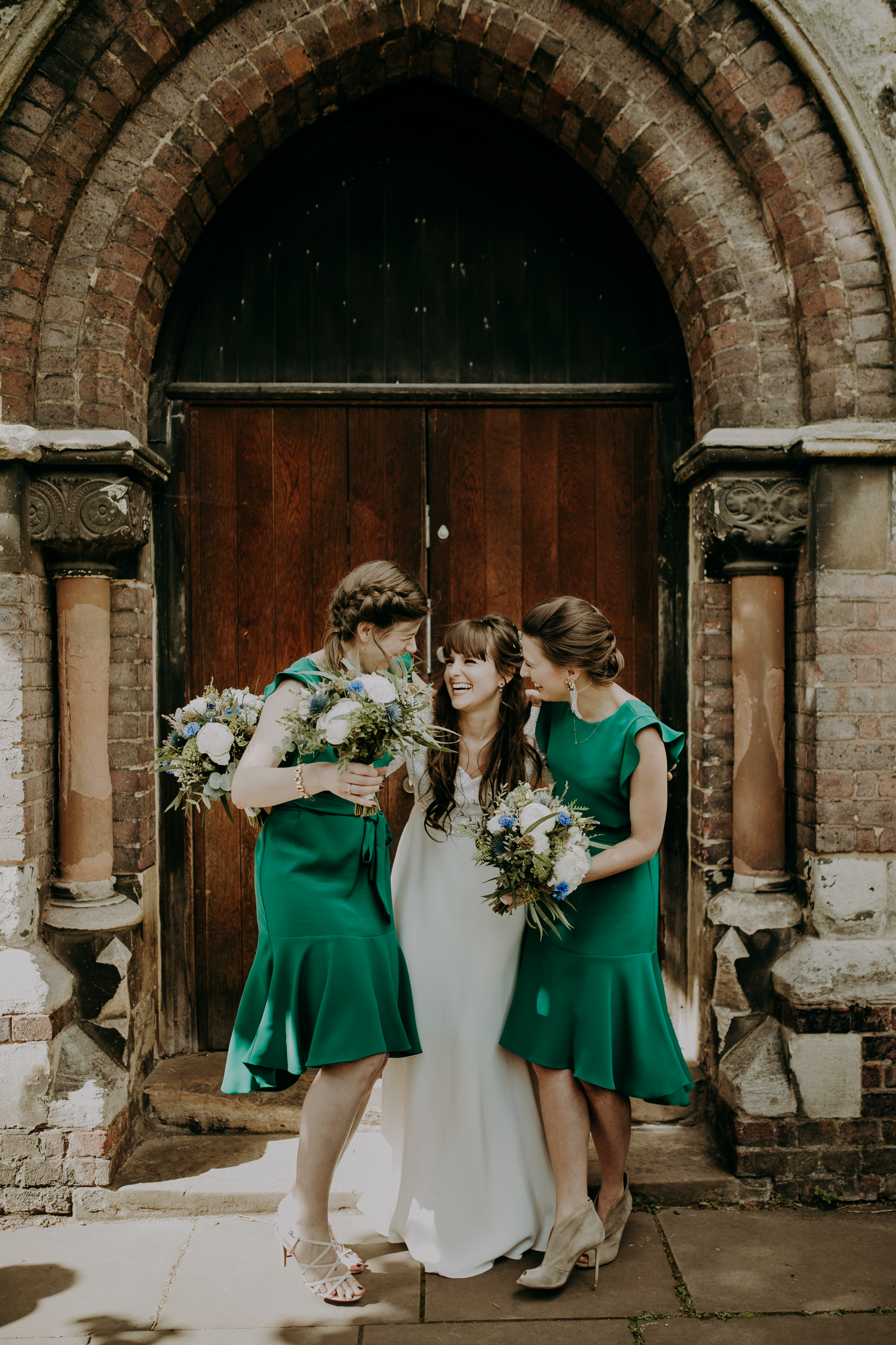wedding-day-image-of-bride-and-bridesmaids-london