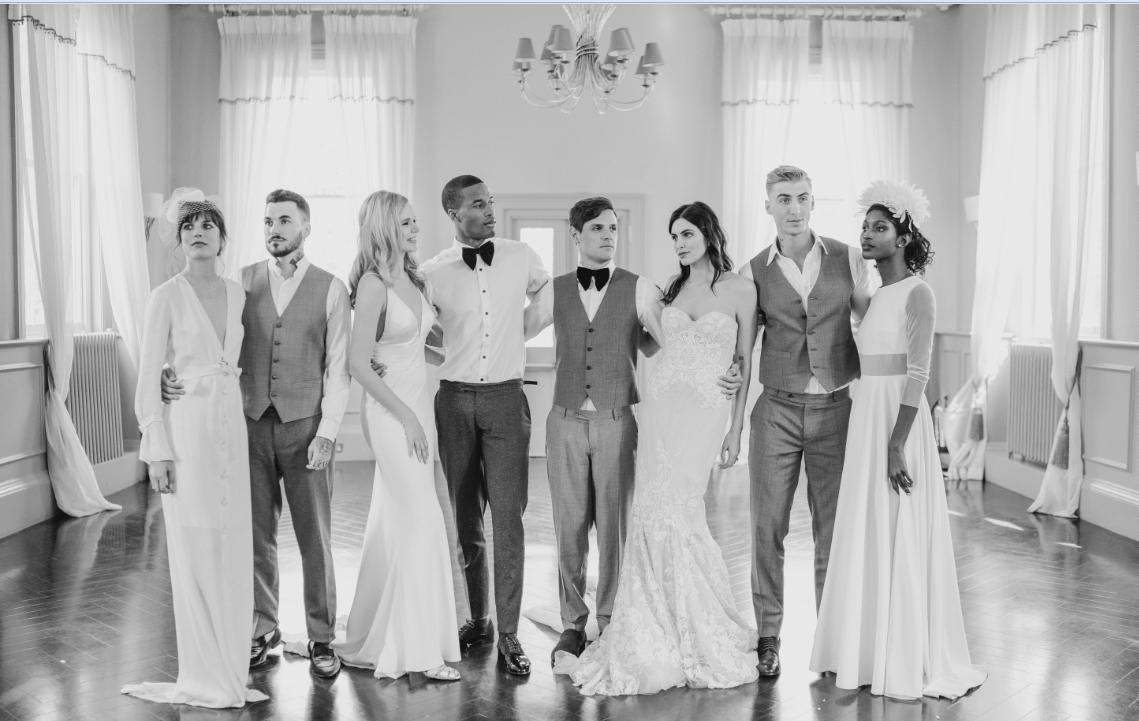 group-image-modern-wedding-photography-Jo-Elizabeth-weddings-London