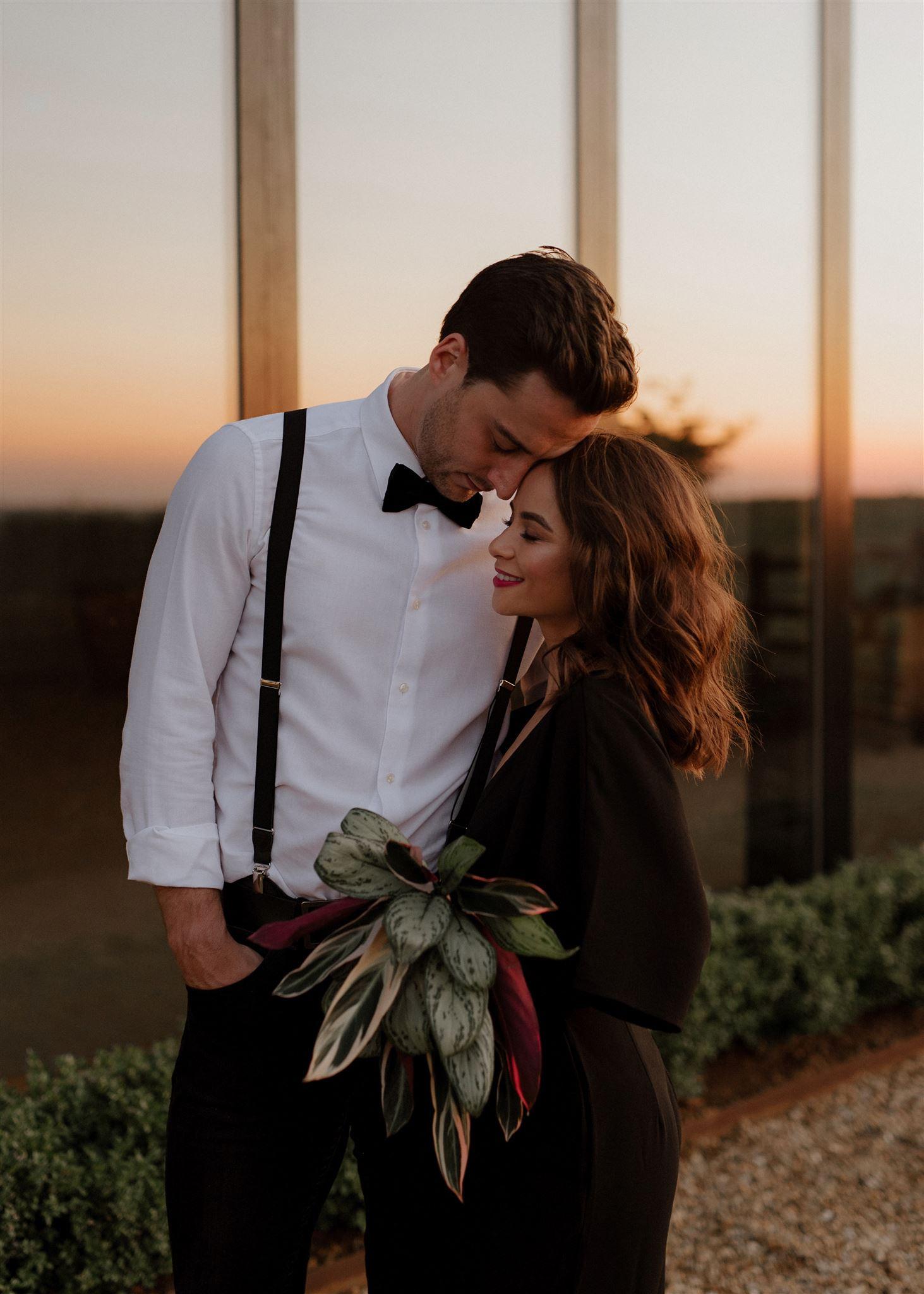 modern-bridal-makeup-and-boho-hair-for-wedding-photo-Wimbledon