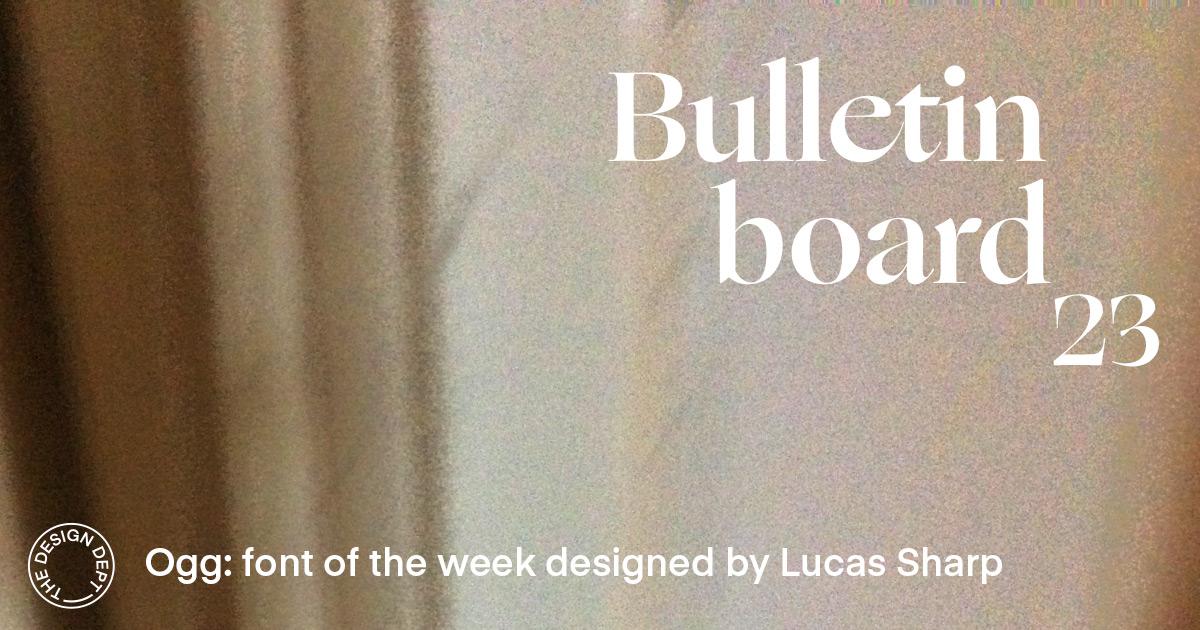 Bulletin Board #23