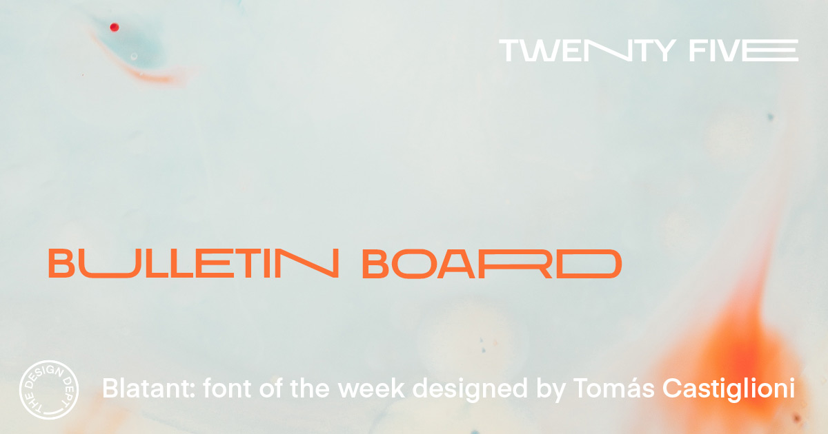 Bulletin Board #25