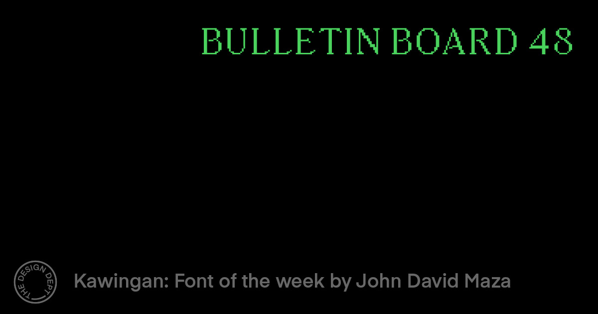 Bulletin Board #48
