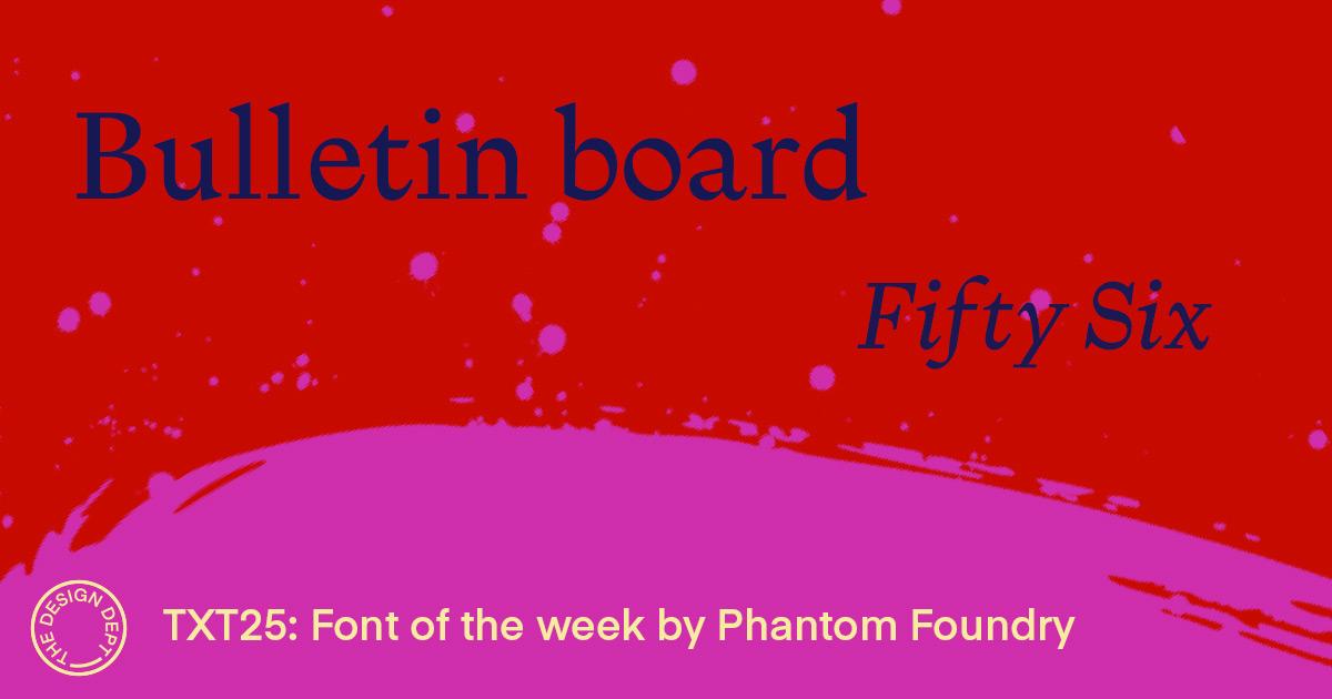 Bulletin Board #56