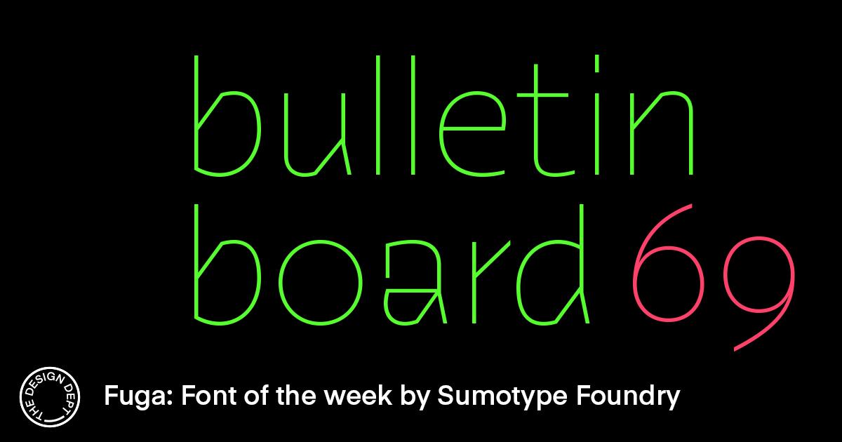 Bulletin Board #69