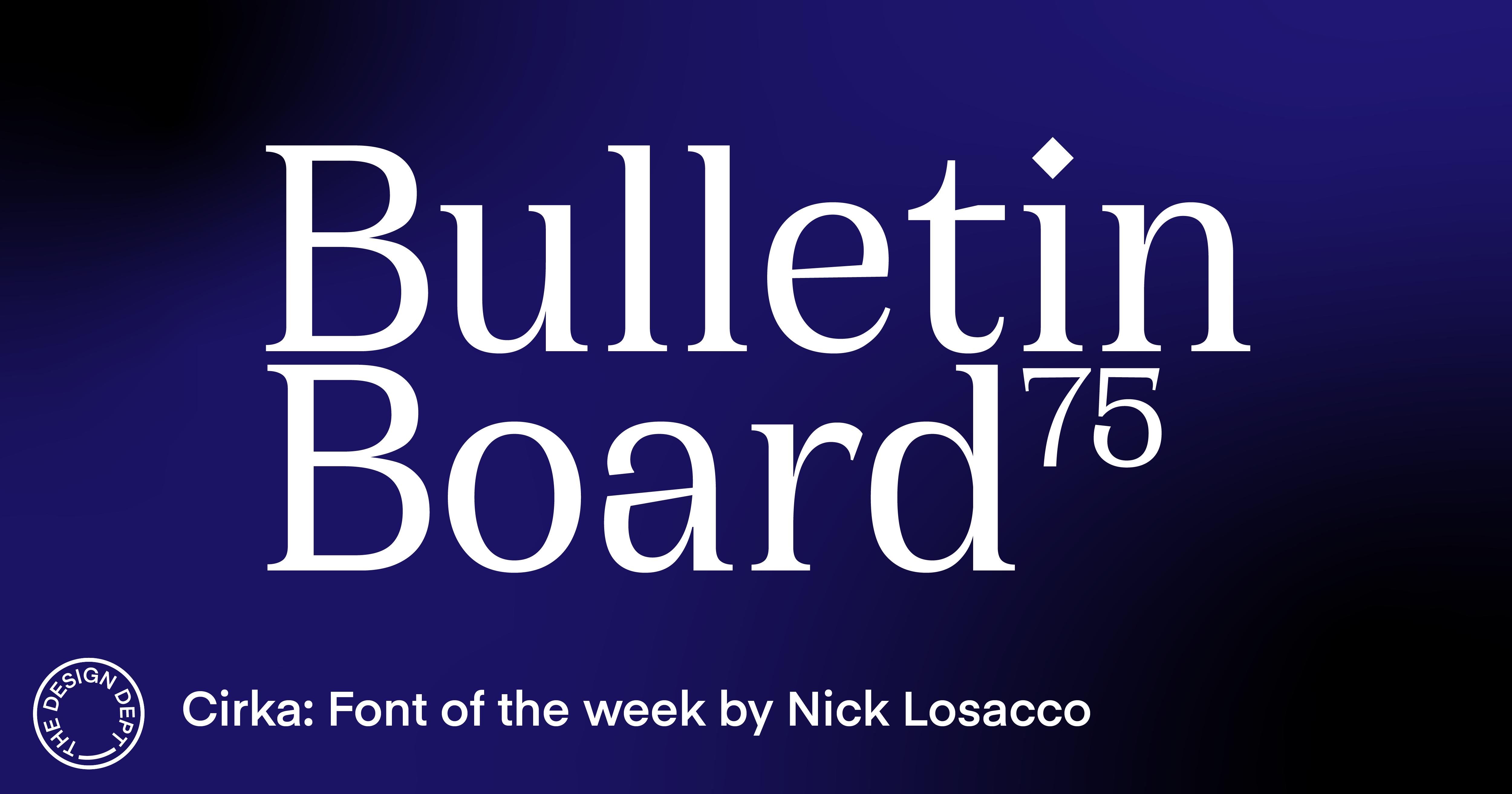 Bulletin Board #75