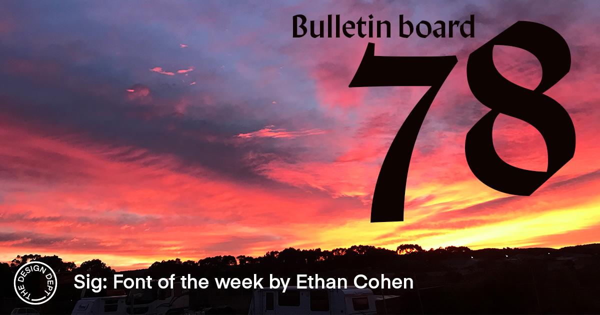 Bulletin Board #78