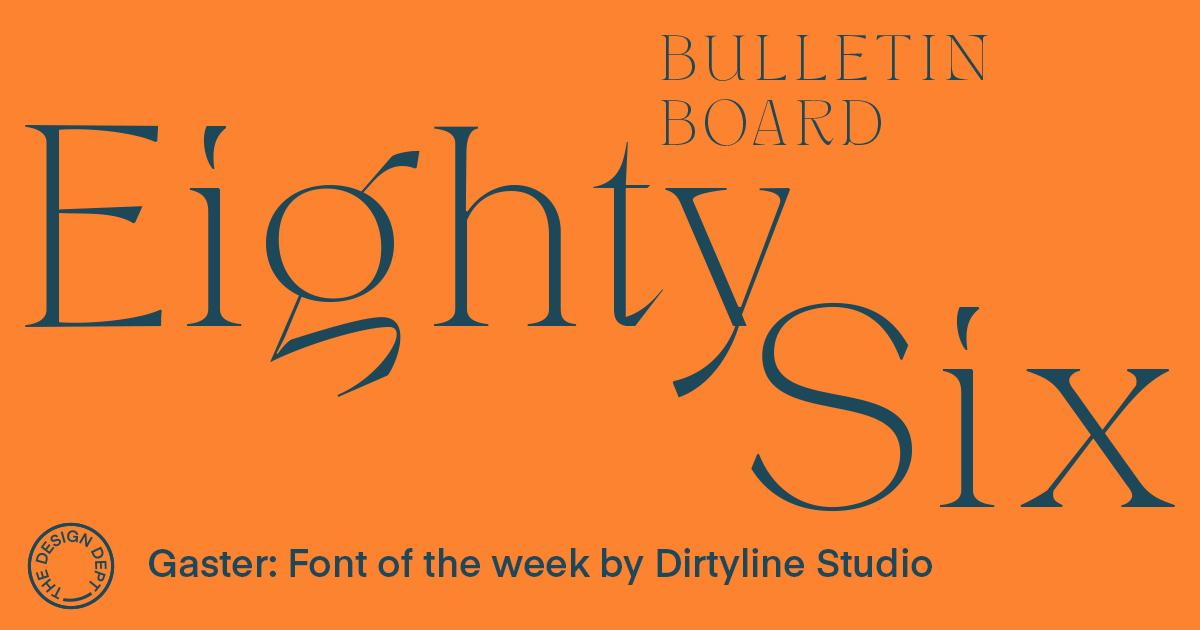 Bulletin Board #86