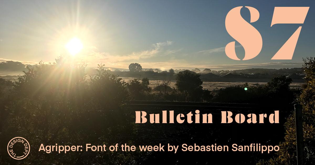 Bulletin Board #87