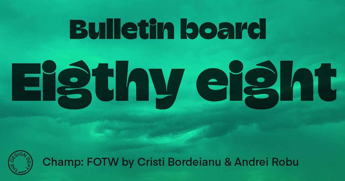 Bulletin Board #88