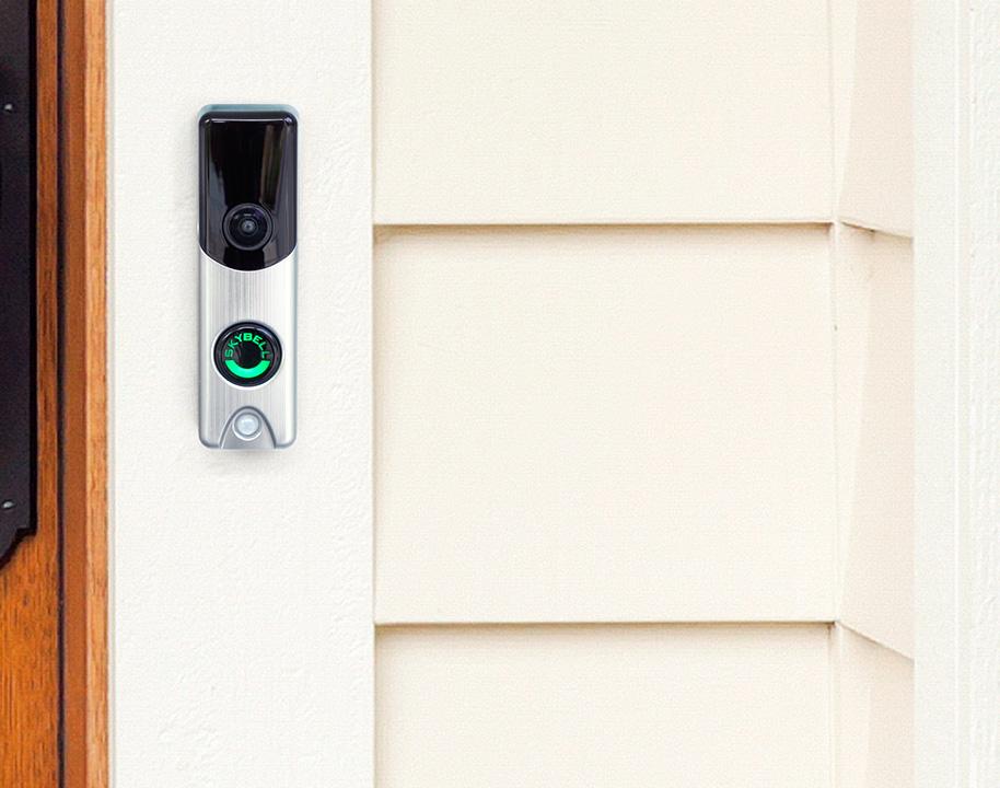 Slimline doorbell camera