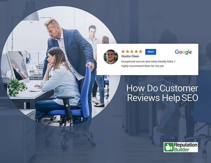 How do customer reviews help SEO