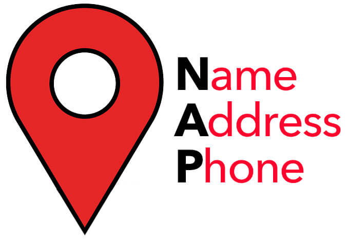 NAP, name, address, phone number
