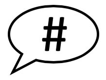Social Media Hashtag
