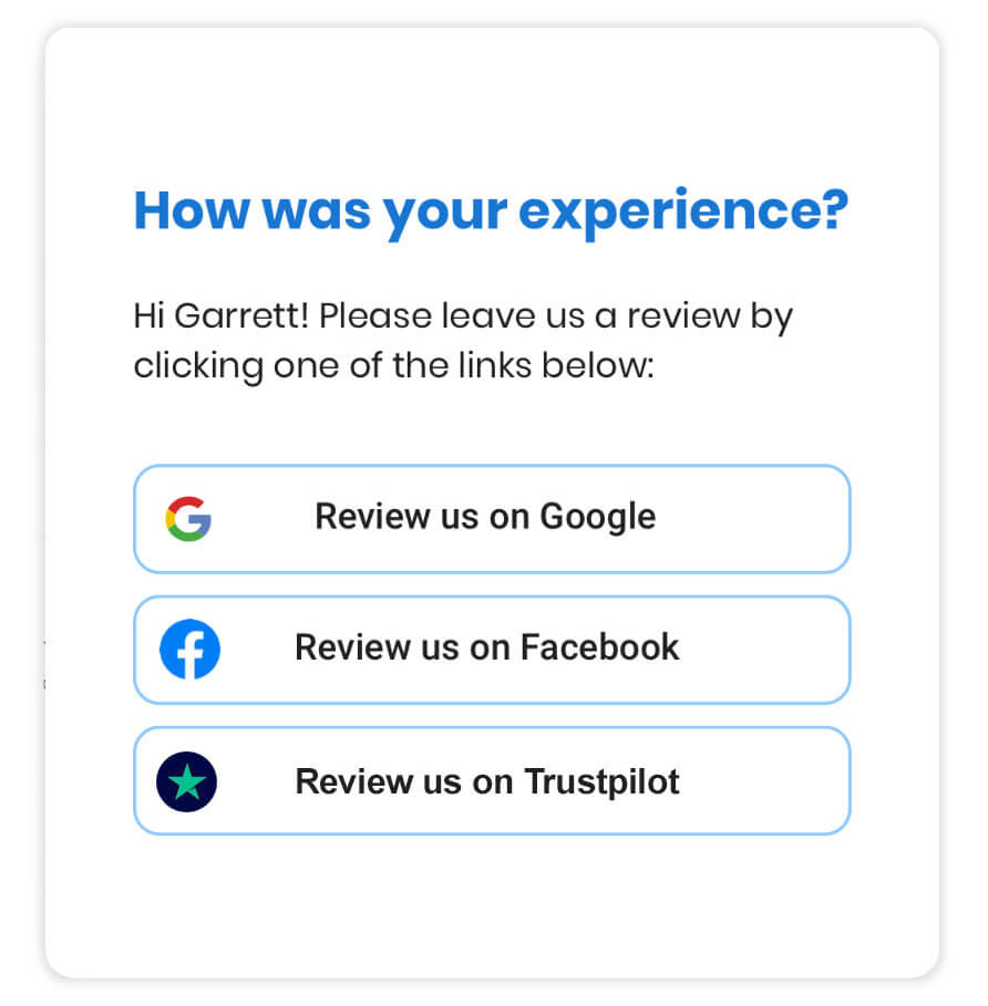 Financial Services Online Review Generation