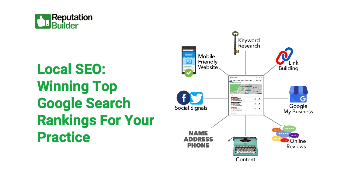 Local SEO: Winning Top Google Search Ranking For Your Practice