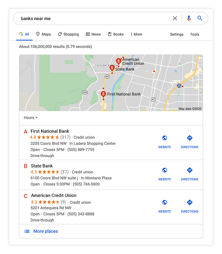Google search pack