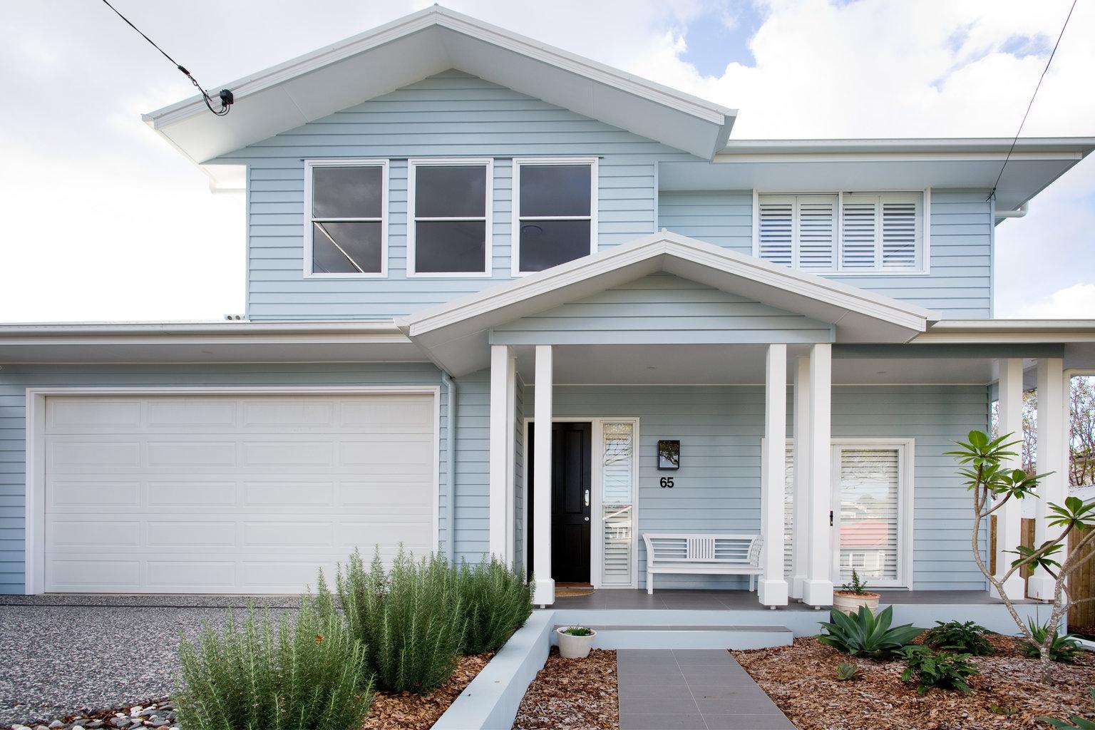 Custom home built in Brisbane