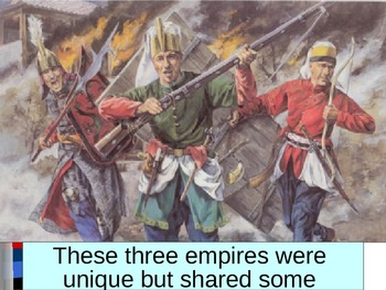 Muslim Gunpowder Empires