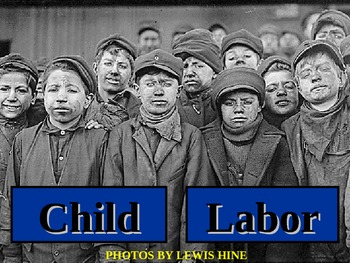 Child Labor PowerPoint and Activity