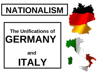 Unifications of Germany and Italy