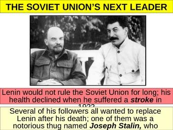 Rise of Joseph Stalin