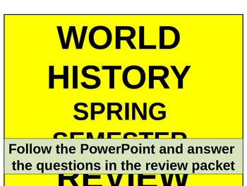 Unit 14 Spring Final Exam Review