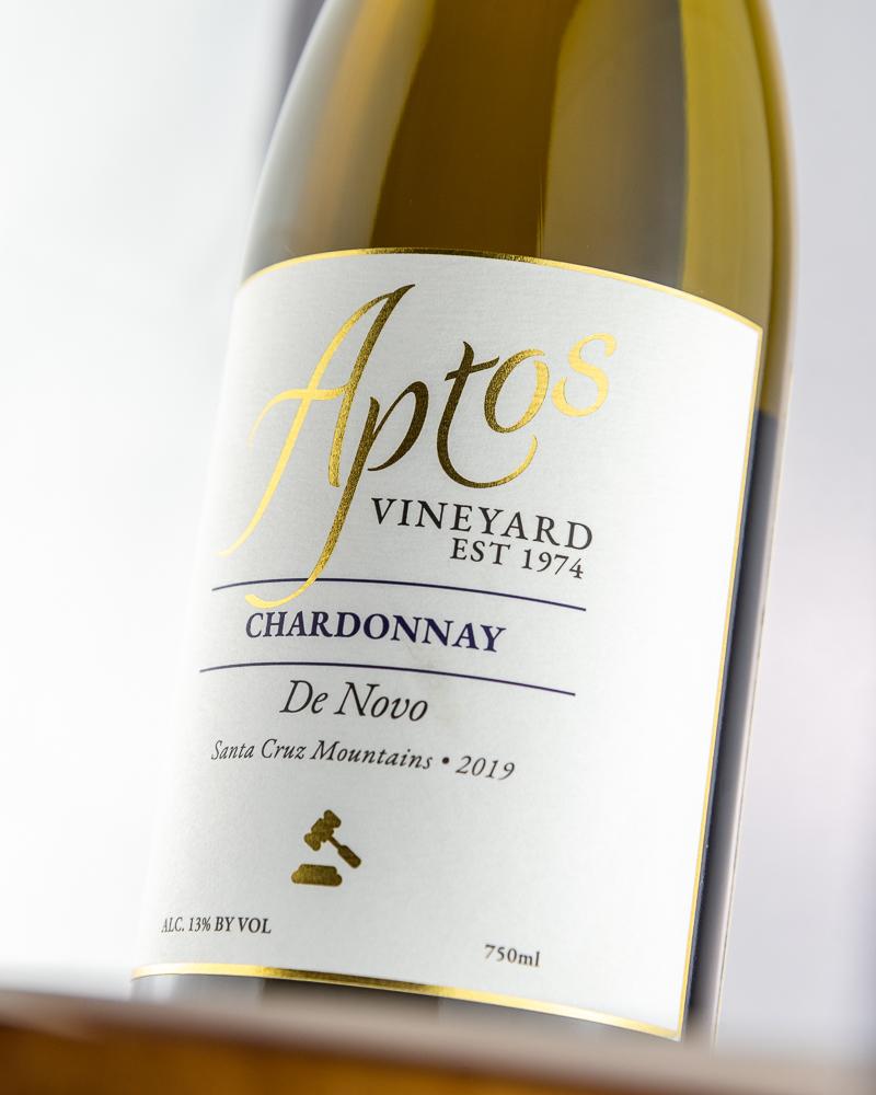 Aptos Vineyard 2019 Chardonnay wine bottle