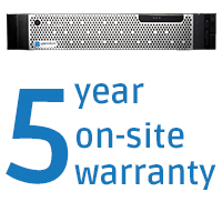 Wavestore's new WR-Series NVRs with 5-year warranty