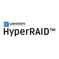 Wavestore HyperRAID™ technology offers N+5 hard drive redundancy