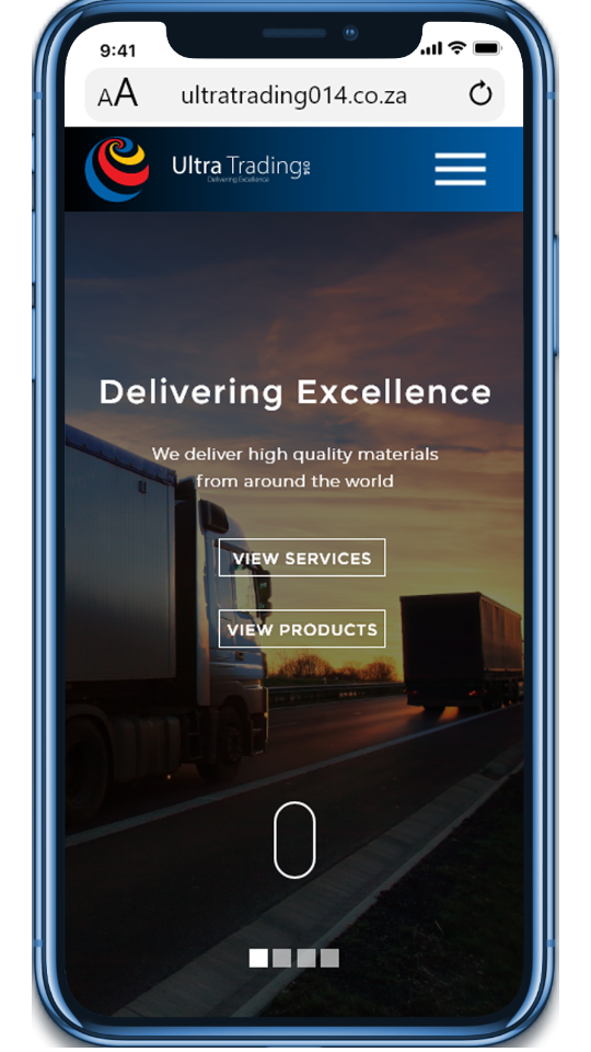 Ultra Trading strives towards providing high quality services that satisfy individual customers with practical and reliable logistic solutions that translates into a quality product and service