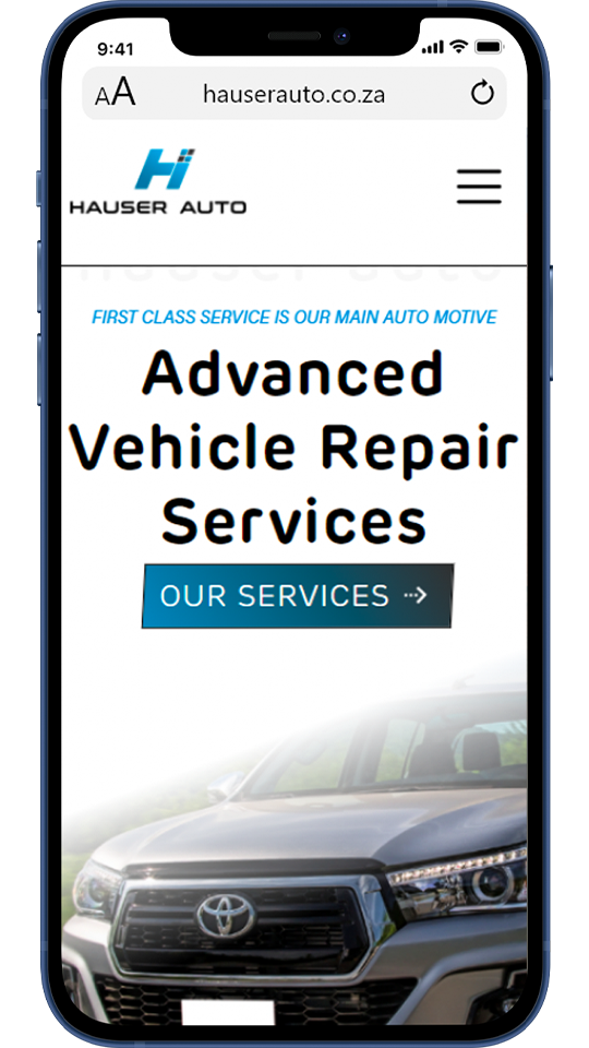 Hauser Auto has been offering superior vehicle repair and maintenance for more than twenty years and has built an understanding of their customers as well as the vehicles that are brought into our care.