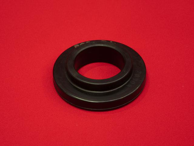 We are offering rubber wheel with flange.