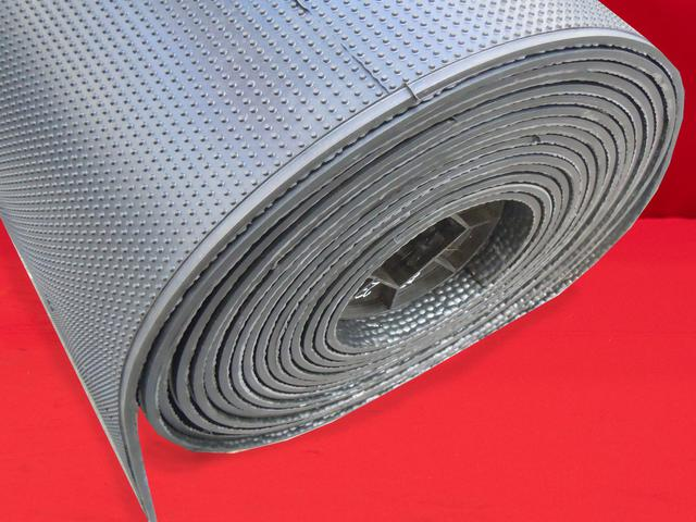 Flooring with hammer profile is suitable for trailers, tractors, horse or cattle transporters, stables, cowsheds, pig farms.