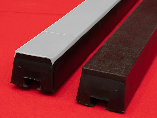 Impact bars are providing maximum belt support in the place of material landing and therefore minimizing the damage of the conveyor belt.