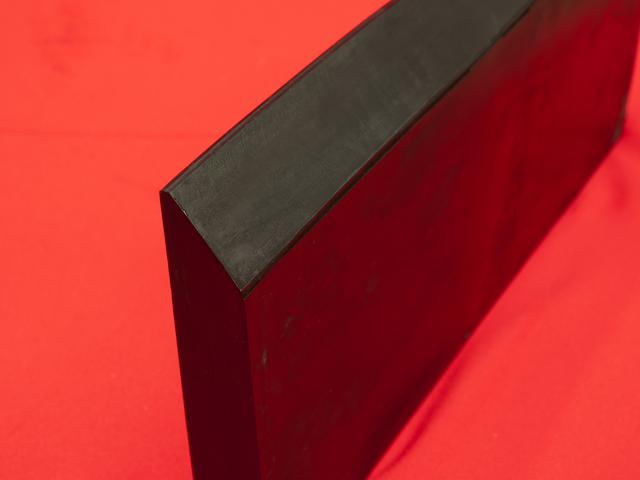 Rubber razor edges are used on snow ploughs for maintaining roads during winter.