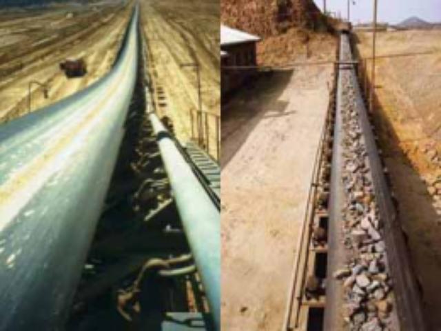 Smooth conveyor belts