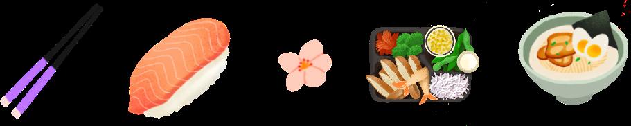 Chopsticks, Nigiri, Flower, Bento, Tonkotsu